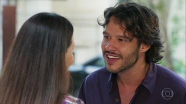 Henrique pede para namorar com Penélope
