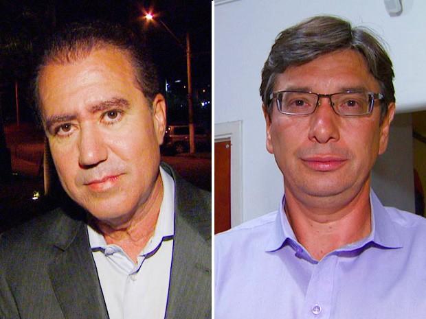 Marcio Pochmann e Jonas Donizette disputam segundo turno em Campinas (Foto: Arte / EPTV)
