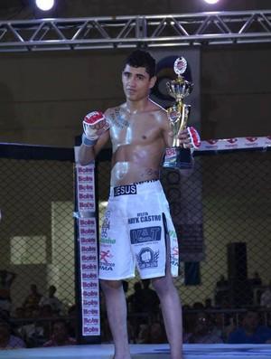 Mayk Peruquinha Castro, lutador de MMA (Foto: Divulgação/Arquivo Pessoal)