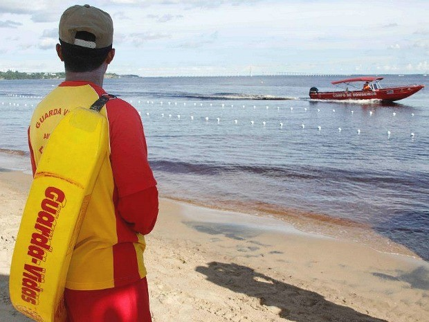 Praia será aberta ao público somente entre as 8h e 17h, por questões de segurança (Foto: Altemar Alcântara/Semcom)