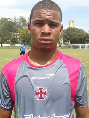 Jhon Cley, jogador do Vasco (Foto: Fred Huber/Globoesporte.com)
