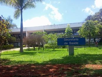 Prédio da Secretaria de Saúde do Distrito Federal (Foto: Raquel Morais/G1)