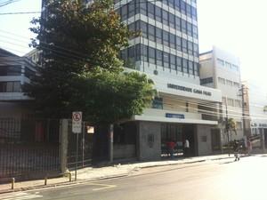 Gama Filho estava fechada nesta sexta-feira (2) (Foto: Lívia Torres / G1)