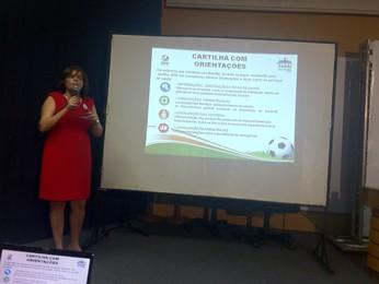 GDF anuncia programa de saúde para Copa das Confederações e Copa do Mundo, em 2014 (Foto: Raquel Morais/G1 DF)