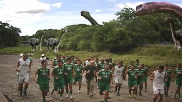 Registrando o Brasil - Dinossauros da Praíba (Foto: Reprodução/TV Globo)