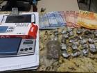 Jovem é preso em flagrante por tráfico de drogas em Cardoso
