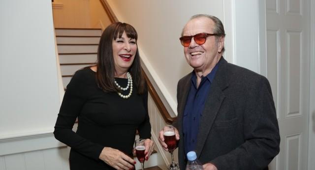 Anjelica Huston e Jack Nicholson nos tempos atuais (Foto: Getty Images)