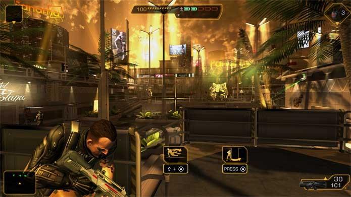 Deus Ex com coleção em oferta na Nuuvem (Foto: Divulgação/Square Enix)