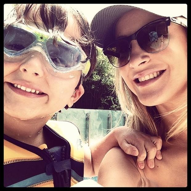Claudia Leitte com o filho (Foto: Instagram / Reprodução)