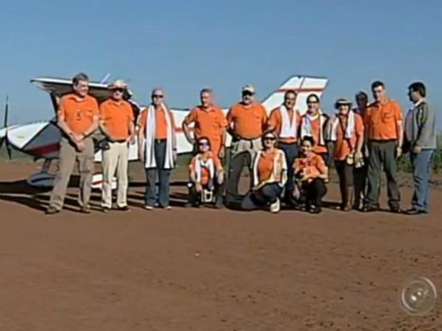 Grupo de amigos termina rota do CAN neste domingo (3), em Tatuí (Foto: Reprodução/ TV TEM)