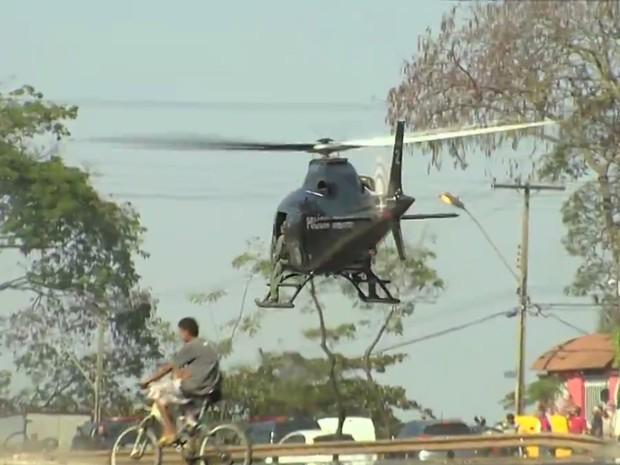 Roubo de caminhonete termina com perseguição e tiroteio, em Goiânia