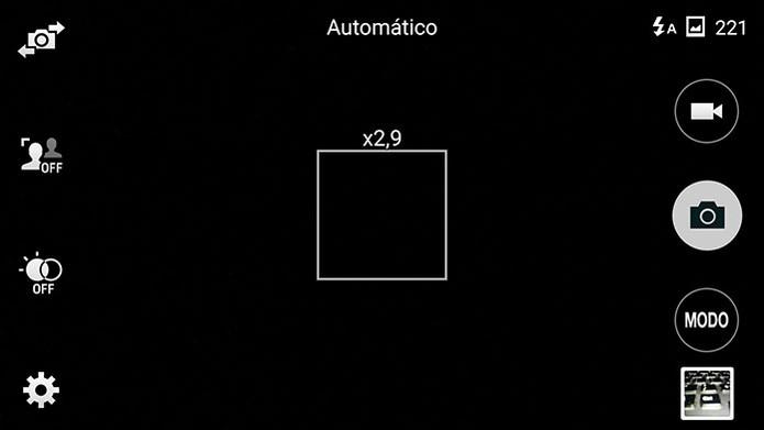 Zoom digital do smart pode prejudicar o resultado (Foto: Reprodução/Barbara Mannara)