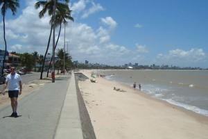 Praia de Manaíra (capa) (Foto: Krystine Carneiro/G1)