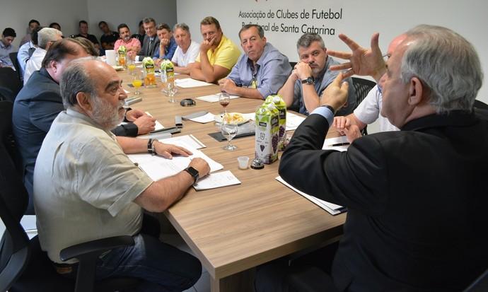 SCclubes conselho técnico (Foto: Paulo Scarduelli/SCClubes)