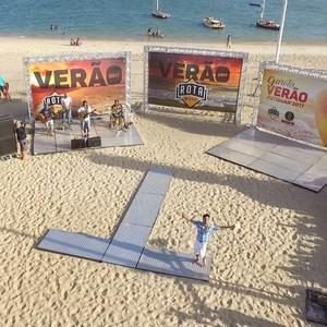 Segundo episódio do 'Rota' de verão será com o reggae potiguar (Foto: Alexandre Gomes / Inter TV)