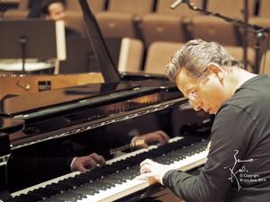 Pianista francês se apresenta na Sala de Concertos Maestro José Siqueira. (Foto: Divulgação/ Secom-PB)