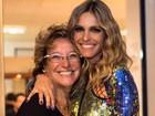 Emocionada, Fernanda Lima revela o talento musical da mãe e a presenteia