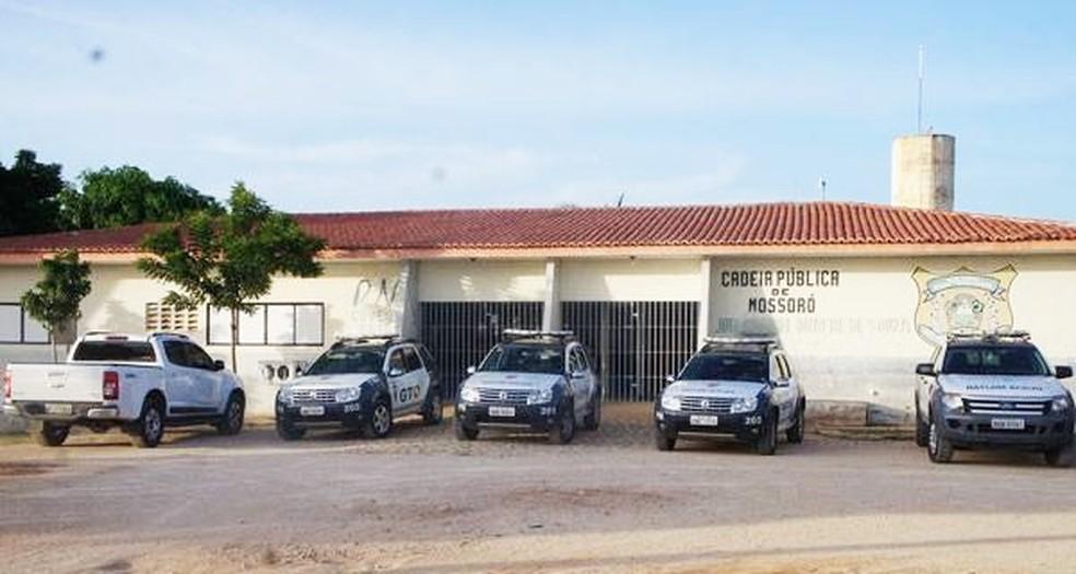 Cadeia Pública de Mossoró, na região Oeste potiguar (Foto: Fim da Linha)