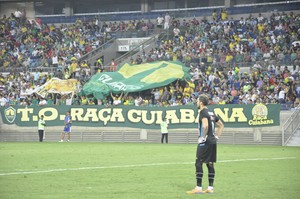 Arena Pantanal Cuiabá x Paysandu (Foto: Robson Boamorte)