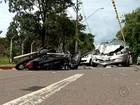 Adolescentes furtam moto e sofrem  acidente durante fuga em Rio Preto
