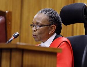 Oscar Pistorius, julgamento, juíza (Foto: Reuters)