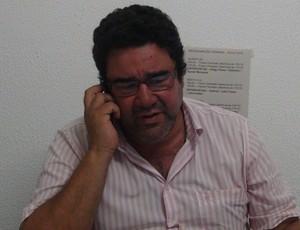 Marcos Lima Verde destaca importância da logística no desempenho do time (Foto: Denison Roma / GloboEsporte.com)
