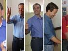 Na hora do voto, candidatos a prefeito de Campo Grande mostram otimismo