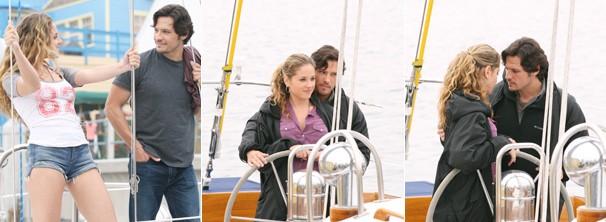 Falsa Amanda sai em um passeio de barco com Jack (Foto: Divulgação / Disney Media Distribution)