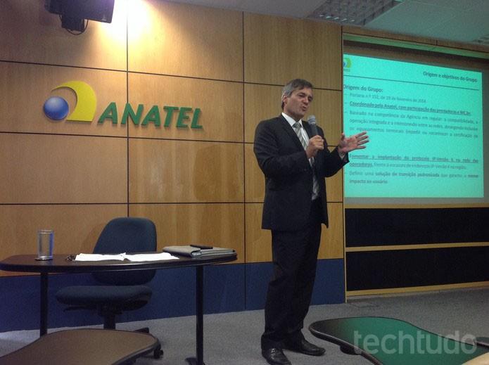 José Alexandre Bicalho, Superintendente de Planejamento da Anatel, explica a adoçâo do IPv6 (Foto: Paulo Finotti / TechTudo)