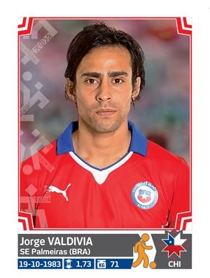 Álbum da Copa América - Valdívia Chile