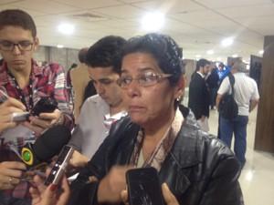 Janira Rocha é deputada do PSOL (Foto: Henrique Coelho/G1)