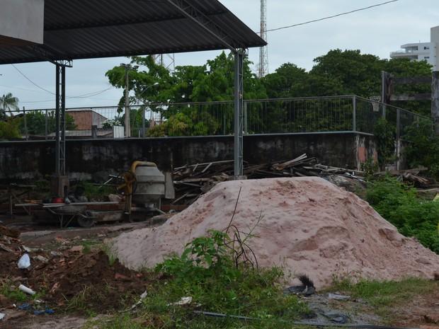 Segundo a 5ª URE, mesmo com as escolas em obras, não há prejuízos às aulas (Foto: Gustavo Campos/G1)