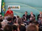 Dilma reitera crítica aos juros na posse do novo ministro do Trabalho