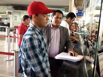 Rubens de Lima, acusado de mandar matar o jornalista Auro Ida (Foto: Kelly Martins/G1)