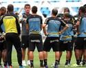 Com Bolatti e Jobson poupados, Mancini arma Bota para pegar Santos