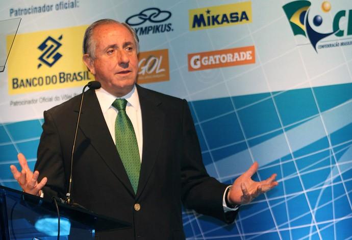 Ary Graça Superliga Vôlei apresentação (Foto: Alexandre Arruda / CBV)