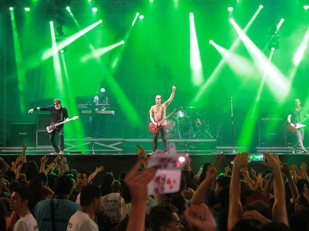 Titãs apostou nas músicas do álbum Nheengatu (Foto: Waldson Costa)