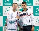 Sérvia conta com Djokovic e torcida para evitar bi dos tchecos na Davis