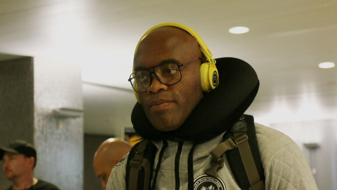 Anderson Silva (Foto: Evelyn Rodrigues)