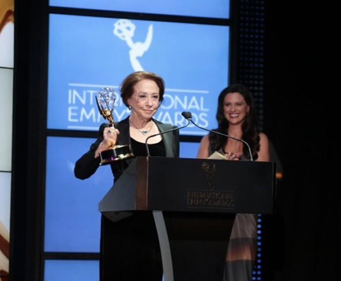 Fernanda Montenegro foi eleita Melhor Atriz no 41º Emmy Internacional  (Foto:  Globo/Luiz C Ribeiro)