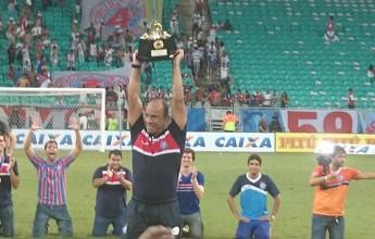 """Sérgio Soares fala sobre reforços e comemora título: """"Bela apresentação"""""""