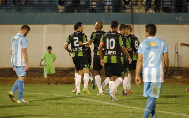 Luziânia x América-MG (Foto: Assessoria AFC/Carlos Cruz)
