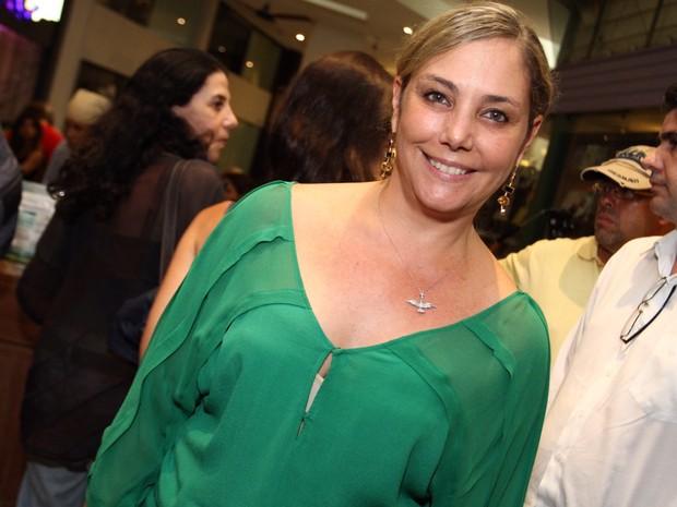 Heloísa Périssé em peça na Zona Sul do Rio (Foto: Anderson Borde/ Ag. News)