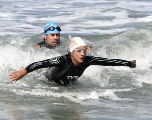 EuAtleta - Rumo ao ápice natação Fernanda keller (Foto: André Durão)
