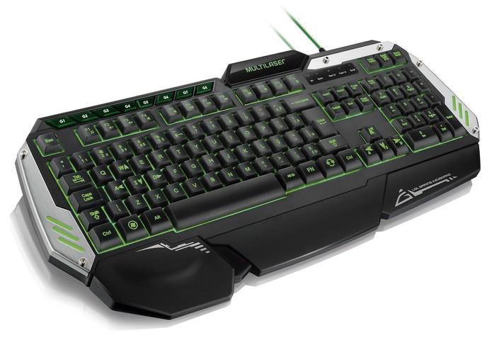 Visando estabilidade, o teclado traz peso embutido para que tenha maior firmeza (Foto: Divulgação/Multilaser)