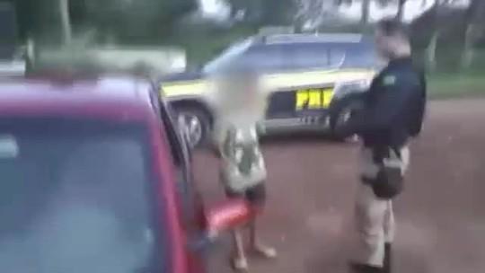 Garoto de 13 anos é flagrado dirigindo veículo no PI; pai era passageiro