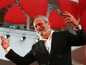 Terry Gilliam chega ao Festival de Veneza em 2 de setembro de 2013 para apresentar 'The zero theorem' (Foto: Reuters/Alessandro Bianchi)