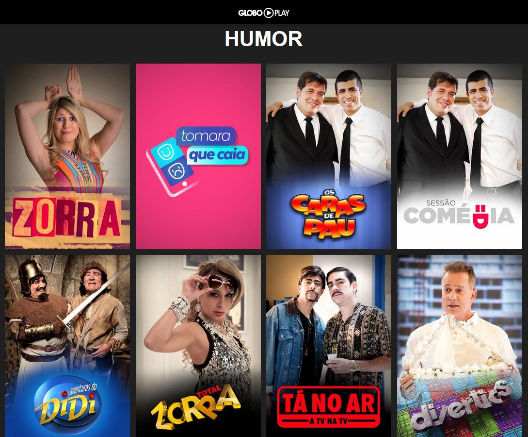 humor da Globo agora também está no seu celular e tablet com o  #BF0C1A 1089 900