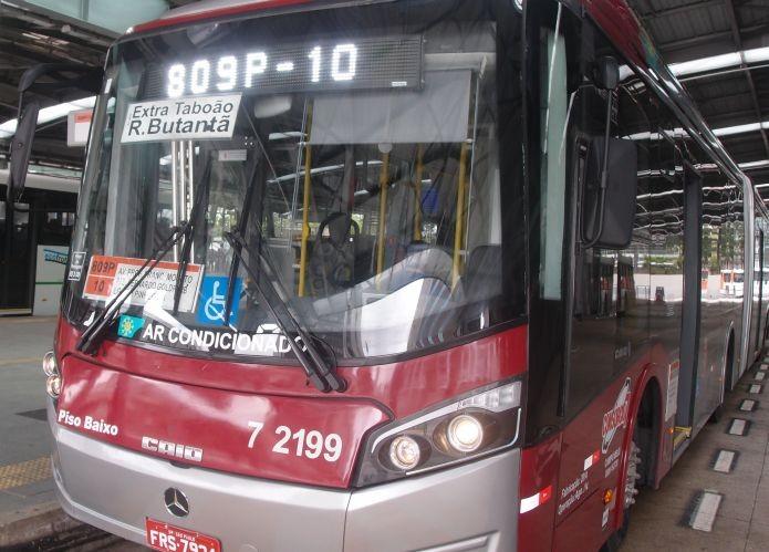 Linha 809P-10 é uma das poucas que possui Wi-Fi em seus ônibus (Foto: Pedro Zambarda/TechTudo)