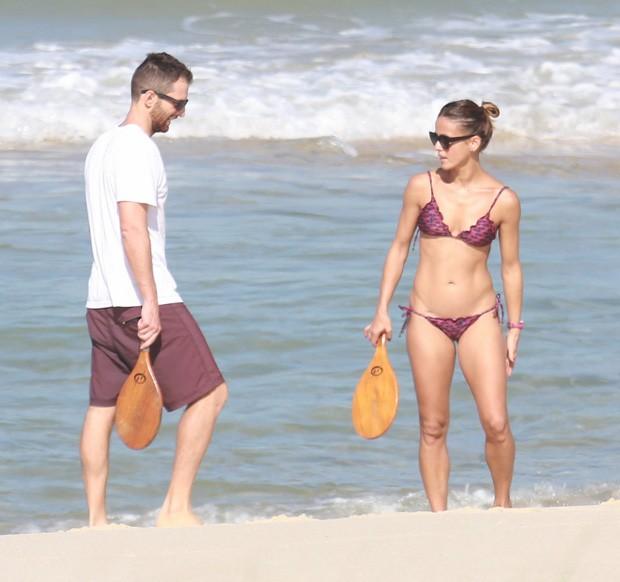 Fernanda Freitas e o marido, João (Foto: DILSON SILVA/AGNEWS)